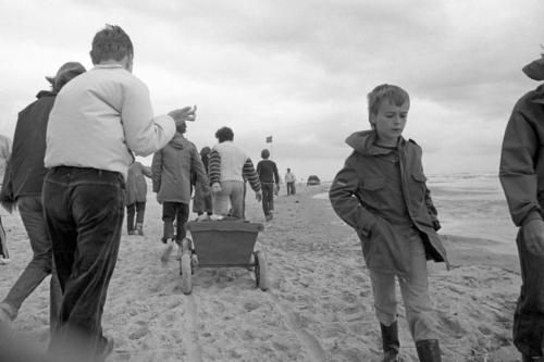 Frans en Joost op het strand 19